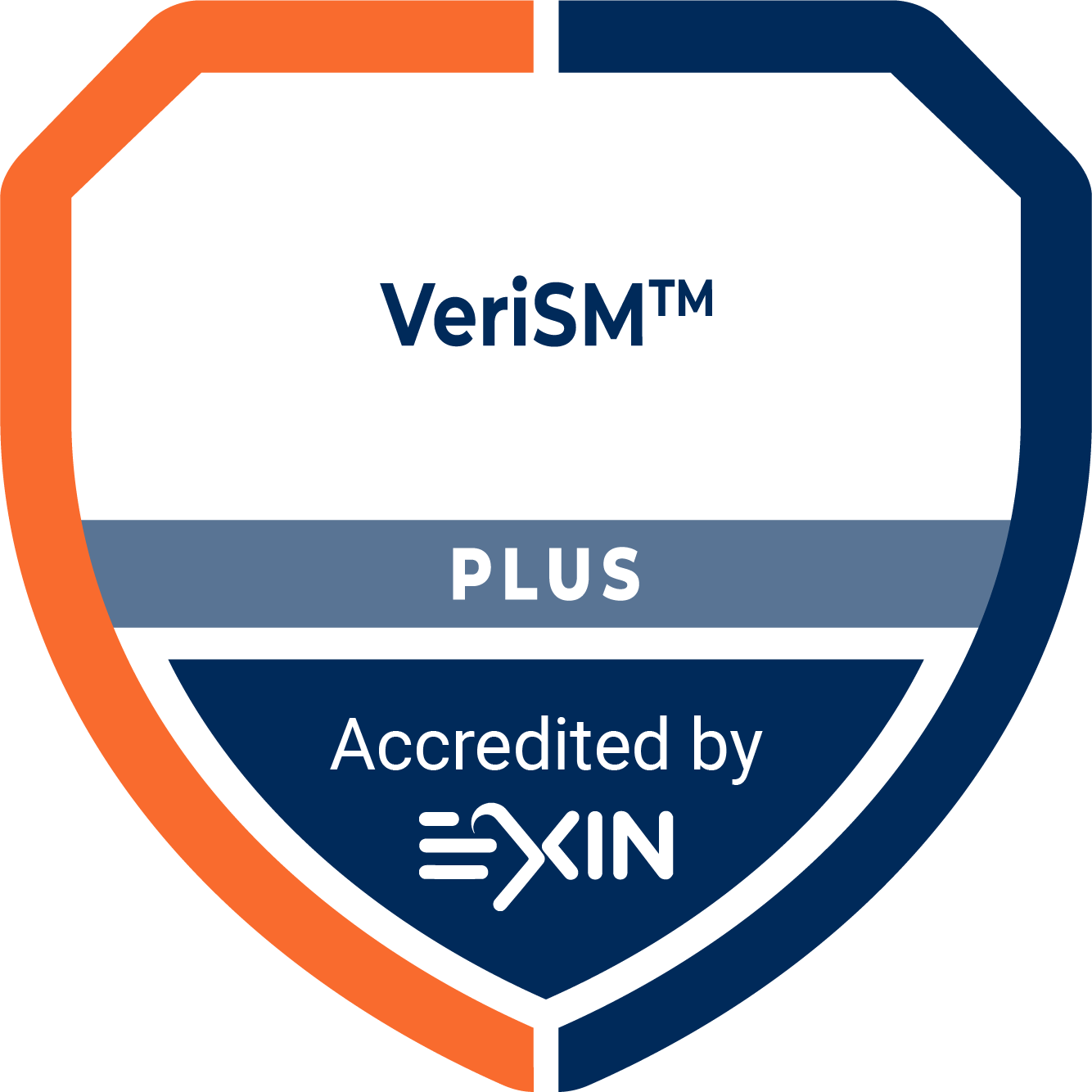 Accreditation Logo VeriSM Plus