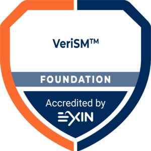 Certification and Training Accreditation Logo VeriSM Foundation