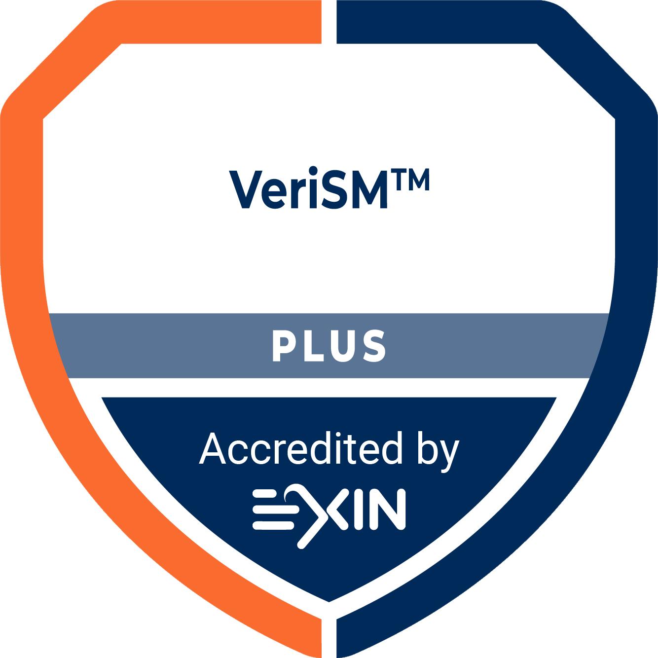 Accreditation Logo VeriSM Plus