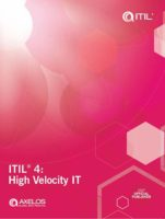 ITIL 4 High Velocity IT book cover