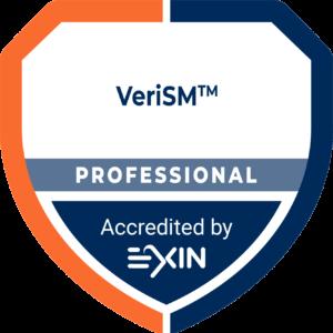 Accreditation Logo VeriSM Professional